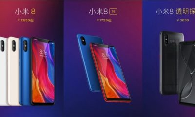 Xiaomi Mi 8: versiones, especificaciones y precios 37