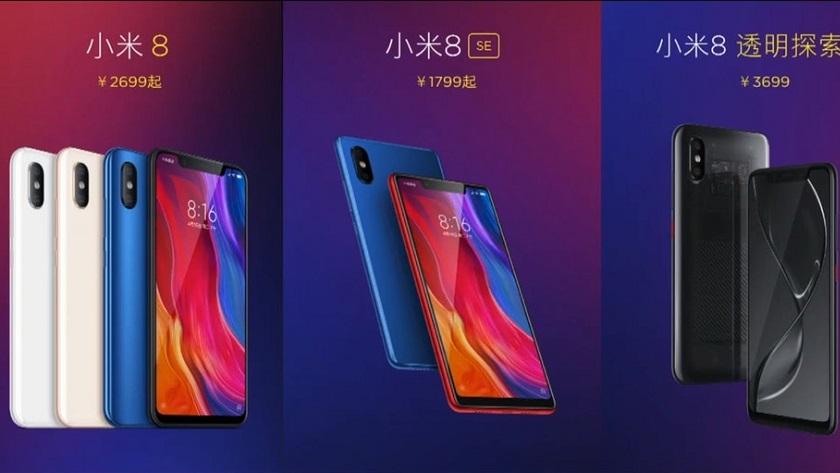 Xiaomi Mi 8: versiones, especificaciones y precios 30