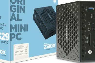 ZOTAC presenta mini-PC con Intel Gemini Lake y refrigeración pasiva