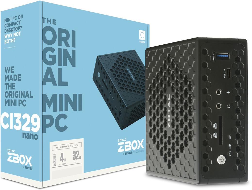 ZOTAC presenta mini-PC con Intel Gemini Lake y refrigeración pasiva 32