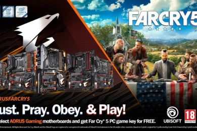 GIGABYTE regala una copia de Far Cry 5 para PC con sus placas base