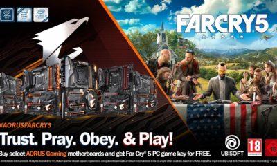 GIGABYTE regala una copia de Far Cry 5 para PC con sus placas base 87