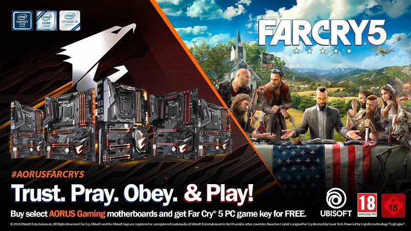 GIGABYTE regala una copia de Far Cry 5 para PC con sus placas base 29