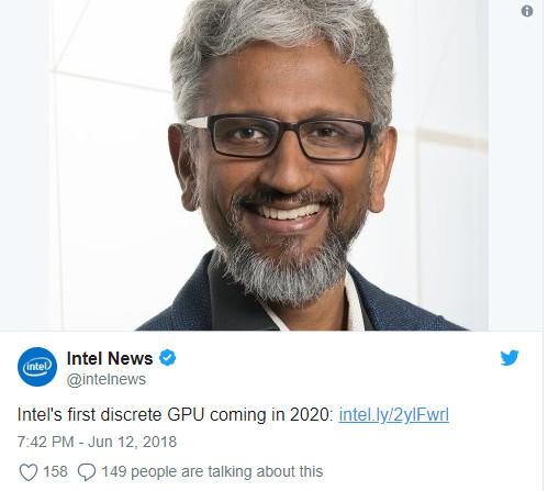 La gráfica dedicada de Intel estará disponible en 2020 31