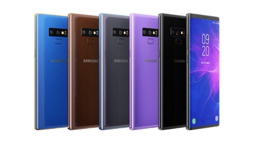 Filtradas todas las claves del Galaxy Note 9 de Samsung 27