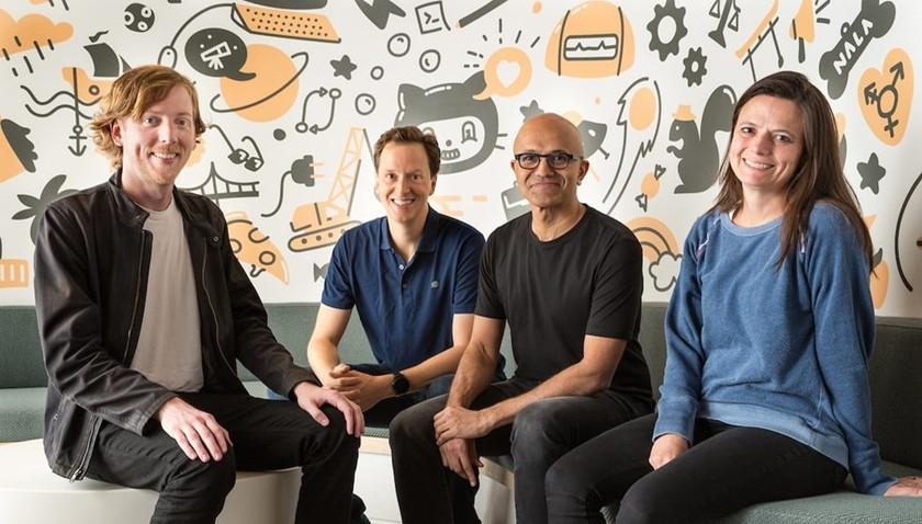 GitHub bajo Microsoft