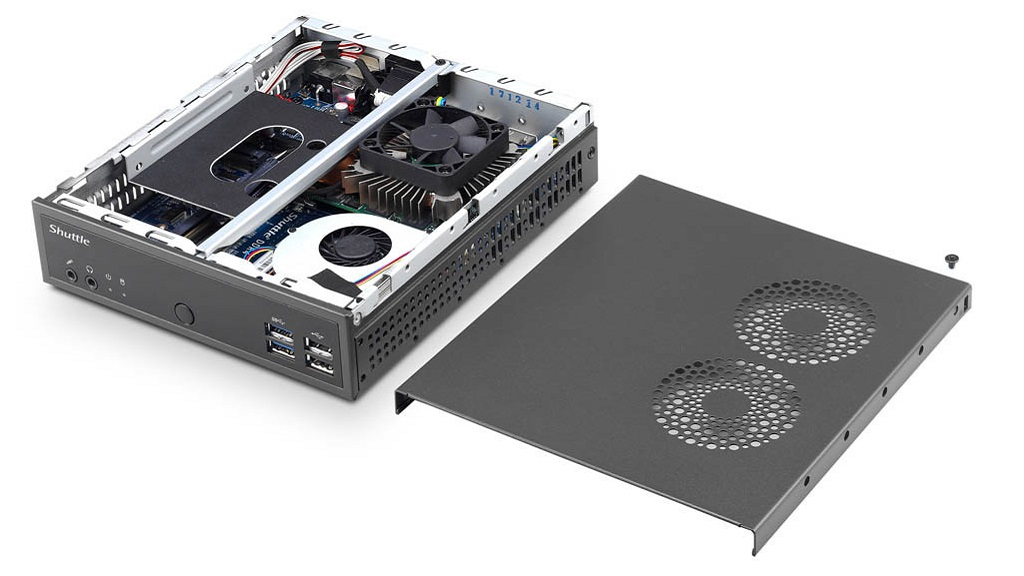 Shuttle DH02U: mini PC con una tarjeta gráfica GeForce GTX 1050 29