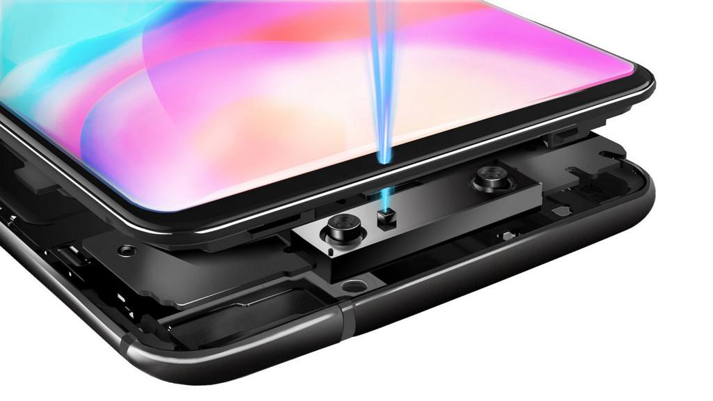 El reconocimiento facial de Vivo tiene 10 veces más puntos de sensores que el iPhone X