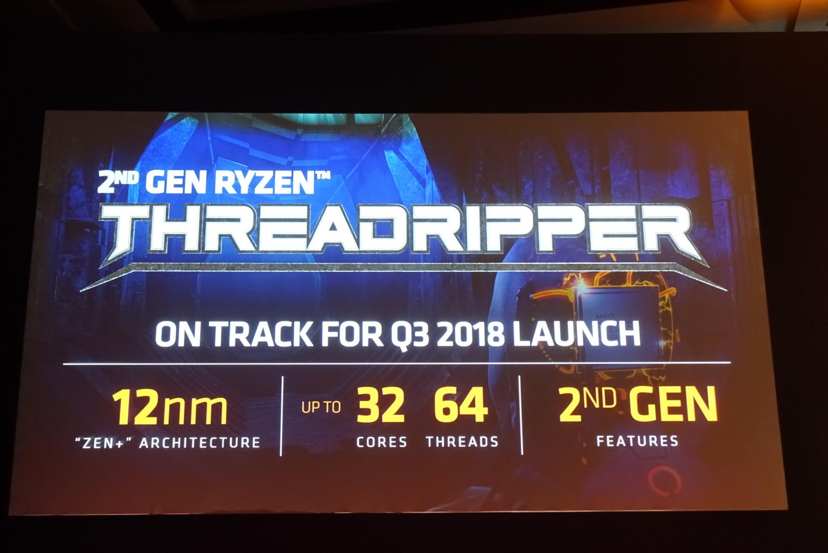 AMD presenta los procesadores Threadripper 2 con 32 núcleos 34