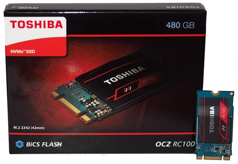 Toshiba comercializa las SSD RC100, PCIe para gran consumo a muy buen precio 31
