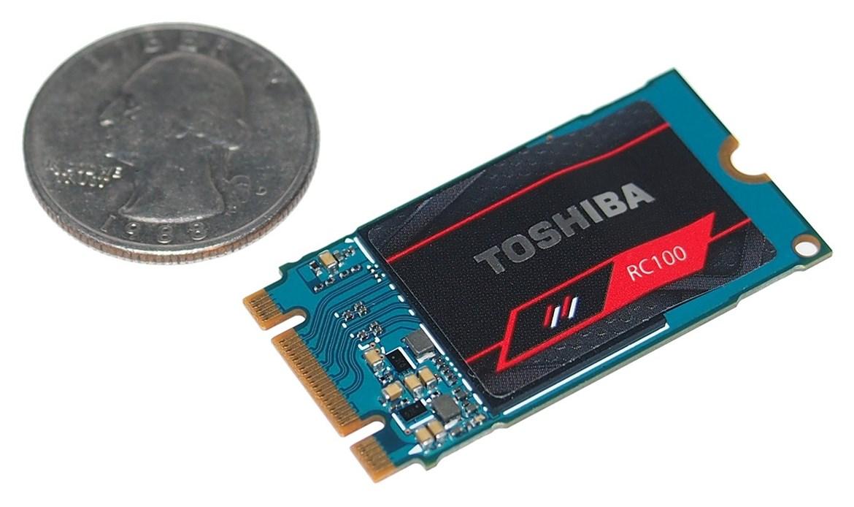 Toshiba comercializa las SSD RC100, PCIe para gran consumo a muy buen precio 29