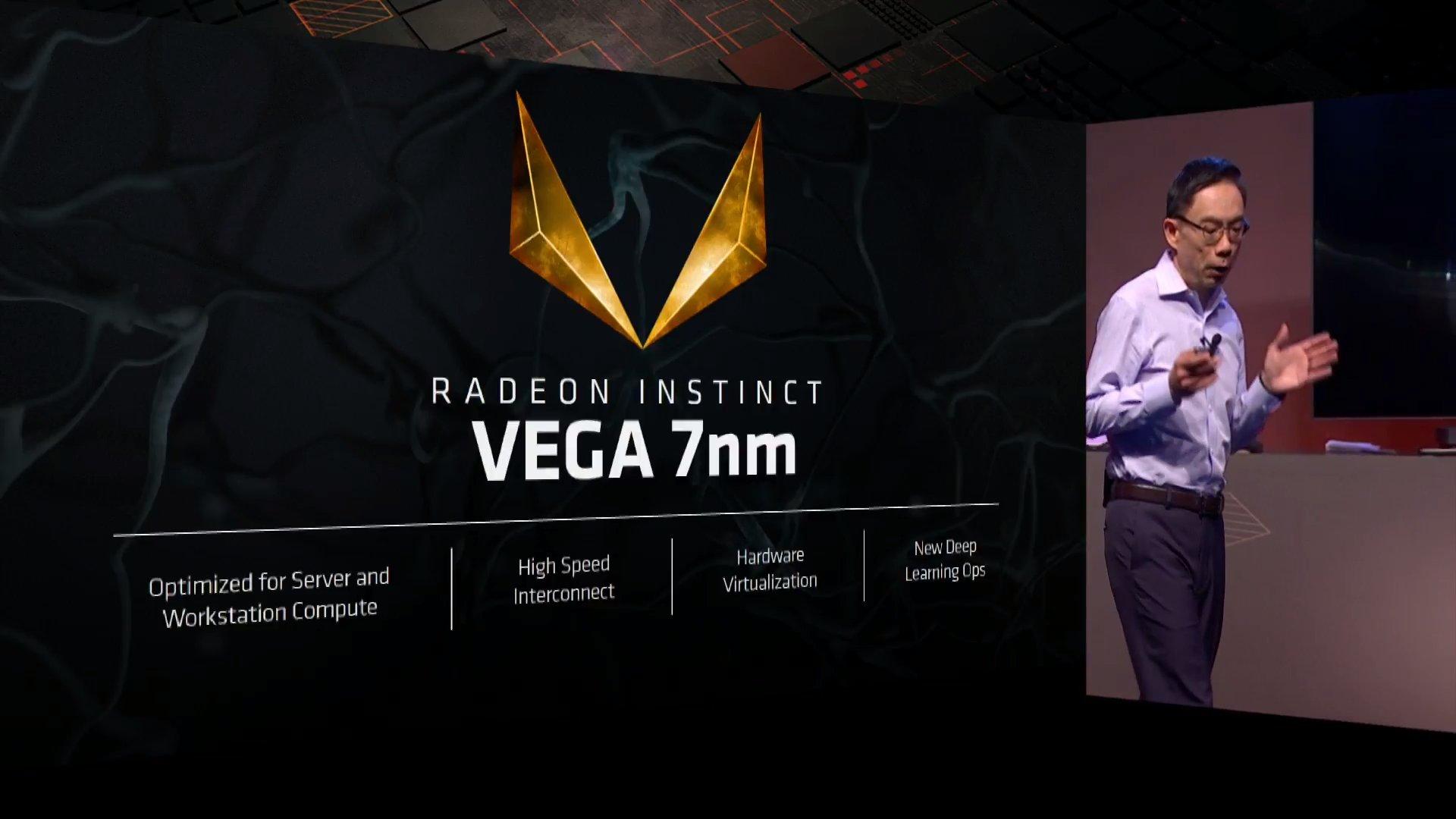 Radeon Instinct con GPU Vega en 7 nm y 32 GB de memoria HBM2, un avance importante 36