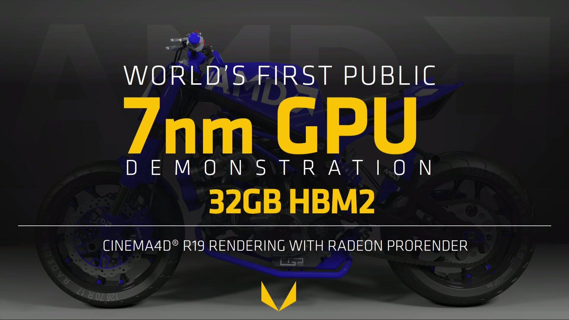 Radeon Instinct con GPU Vega en 7 nm y 32 GB de memoria HBM2, un avance importante 34