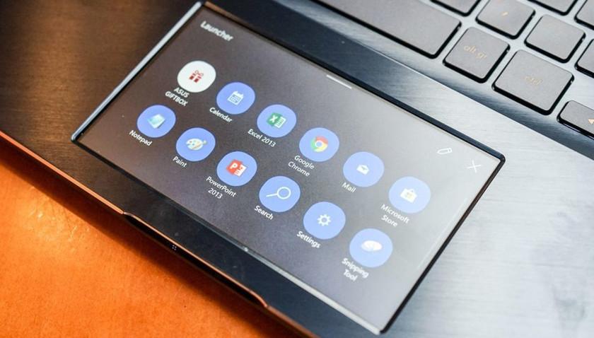 "ZenBook Pro con ""ScreenPad"""