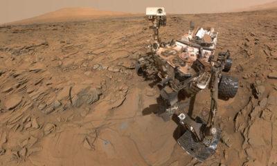 """El rover Curiosity se hace una """"selfie"""" durante la tormenta de arena que azota a Marte 37"""