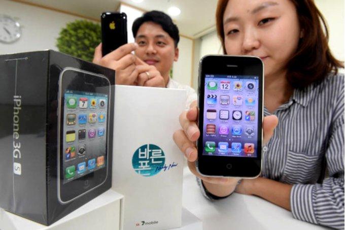 El iPhone 3GS vuelve a la vida, aunque sólo en Corea del Sur 32