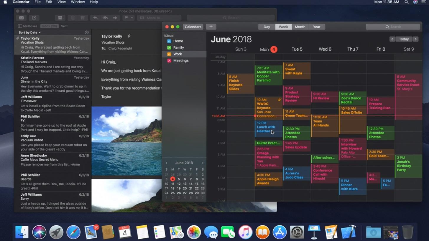 Apple presenta macOS Mojave en el WWDC 2018 29