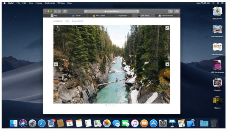 Apple presenta macOS Mojave en el WWDC 2018 33
