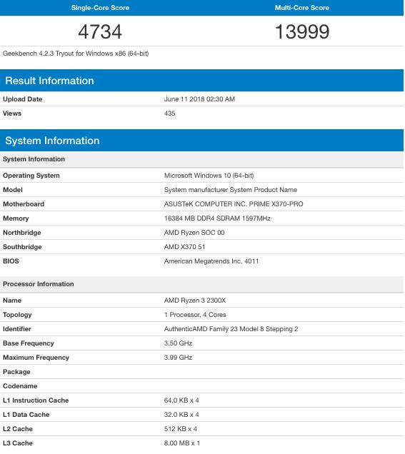 Ryzen 5 2500X y Ryzen 3 2300X filtrados: especificaciones y rendimiento 33