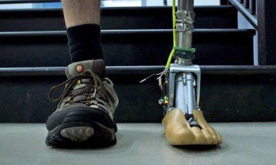 Este tobillo inteligente permite crear prótesis más realistas 111