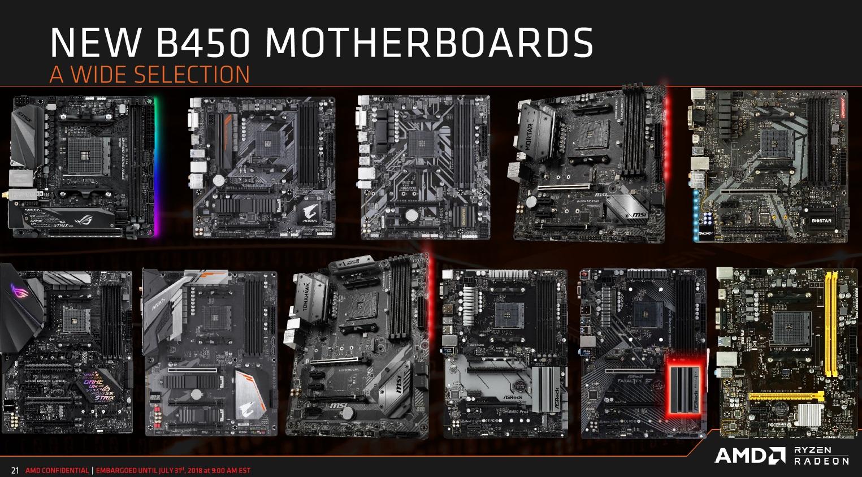 AMD anuncia el chipset B450: todo lo que debes saber 46