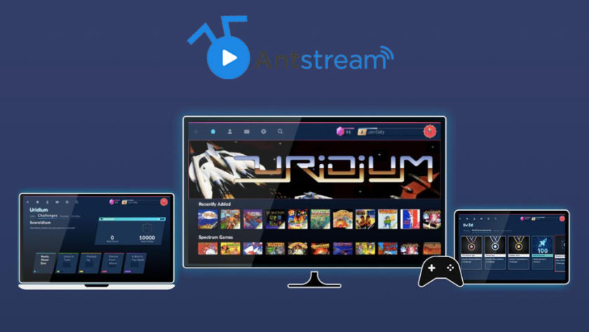 Antstream Streaming Retro Juegos