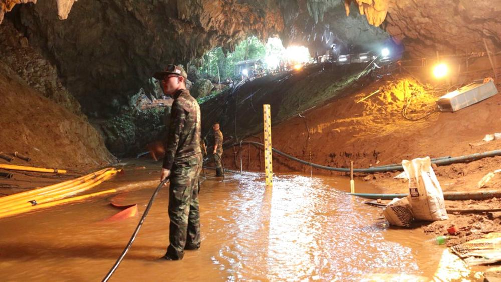 cueva de Tailandia