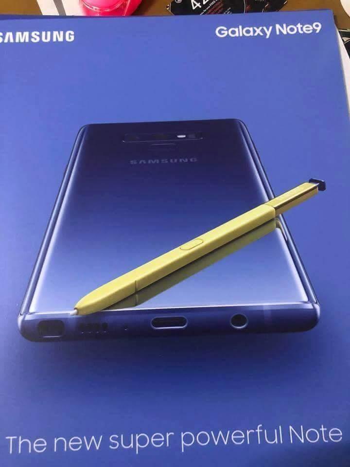 Precio y lanzamiento del Galaxy Note 9 30