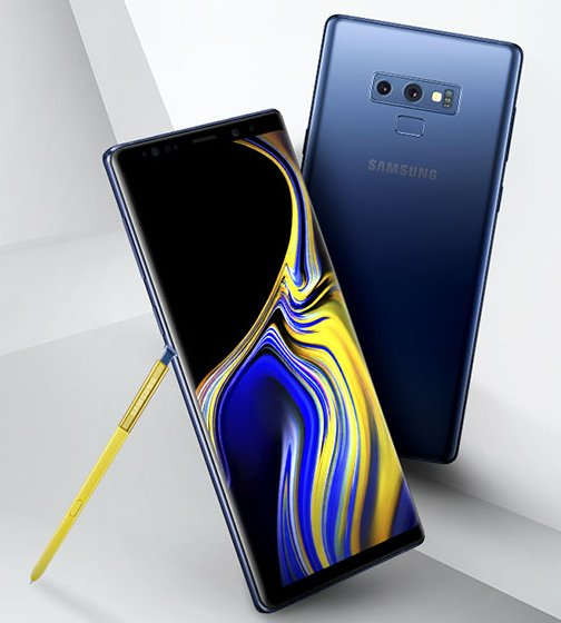 Galaxy Note 9 y S Pen