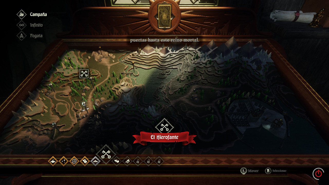 Hand of Fate 2 Análisis Switch