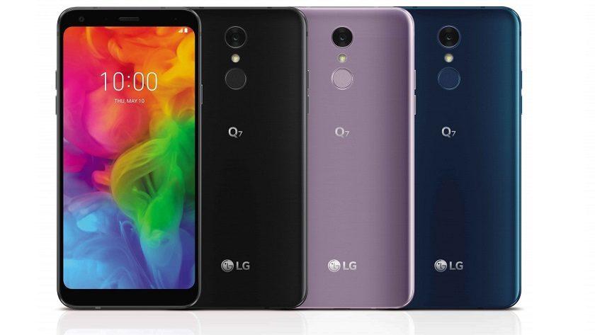 LG Q7 llega a España