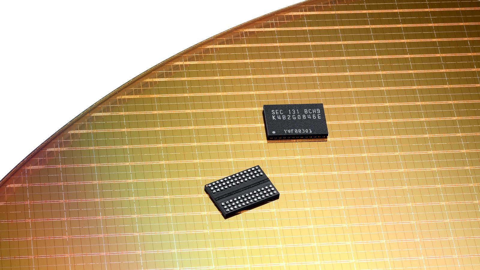 Samsung confirma el desarrollo de chips de 8 Gb de LPDDR5 a 10 nm 35