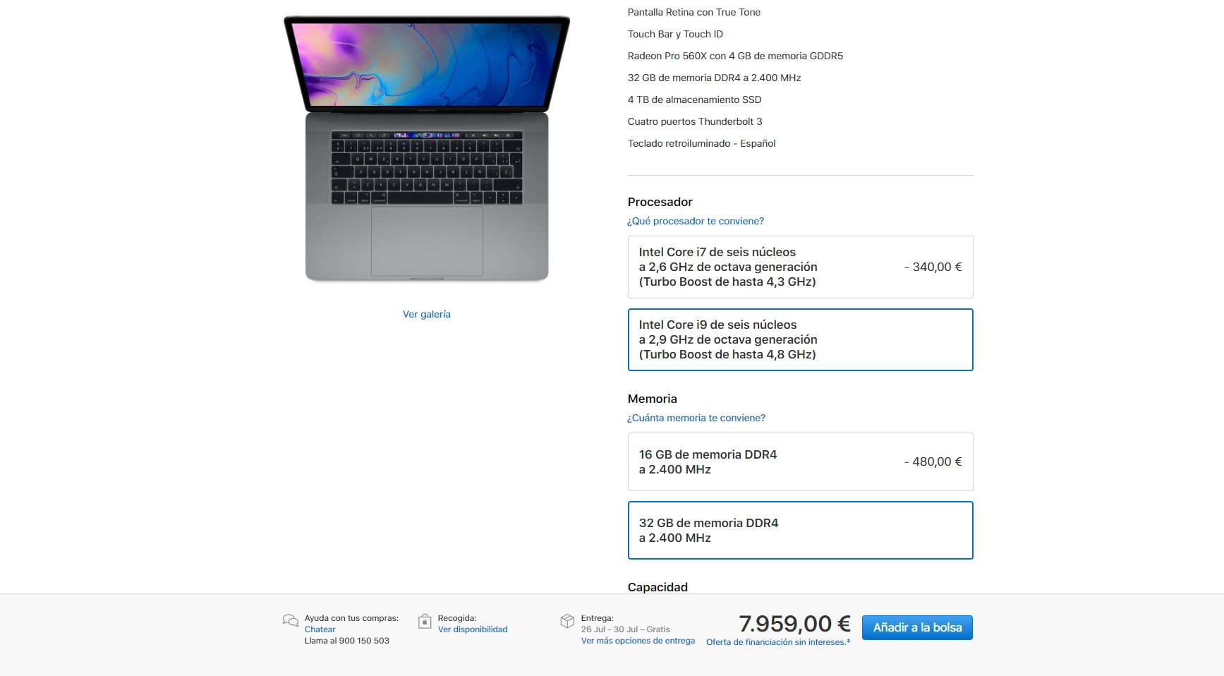 MacBook Pro 2018: Apple actualiza sus portátiles estrella 28