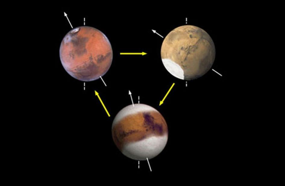 Marte y su inclinación: así ha cambiado con el paso del tiempo 35