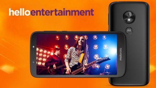 Motorola anuncia el Moto E5 Play con Android Go como sistema operativo