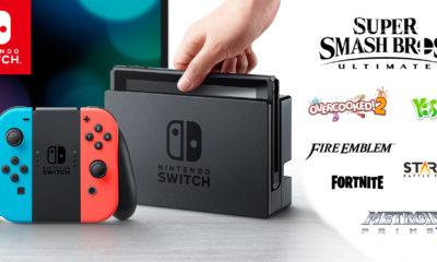 Nintendo Switch Lanzamientos 2018