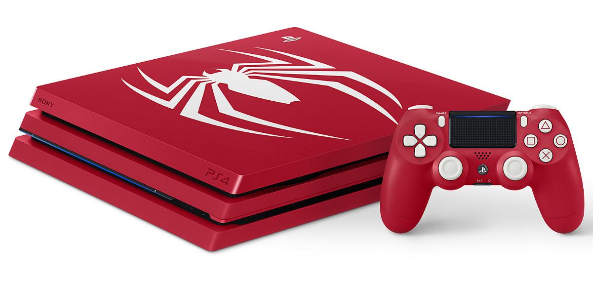 Sony presenta edición limitada PS4 Pro Spider-Man 32