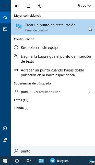 Cómo crear y gestionar puntos de restauración en Windows 28
