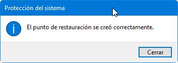 Cómo crear y gestionar puntos de restauración en Windows 36
