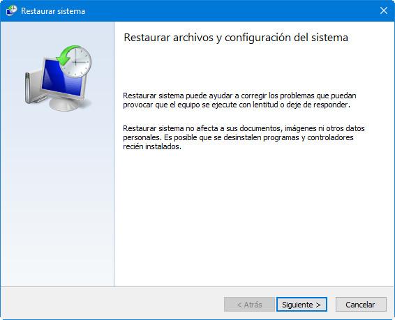 Cómo crear y gestionar puntos de restauración en Windows 38