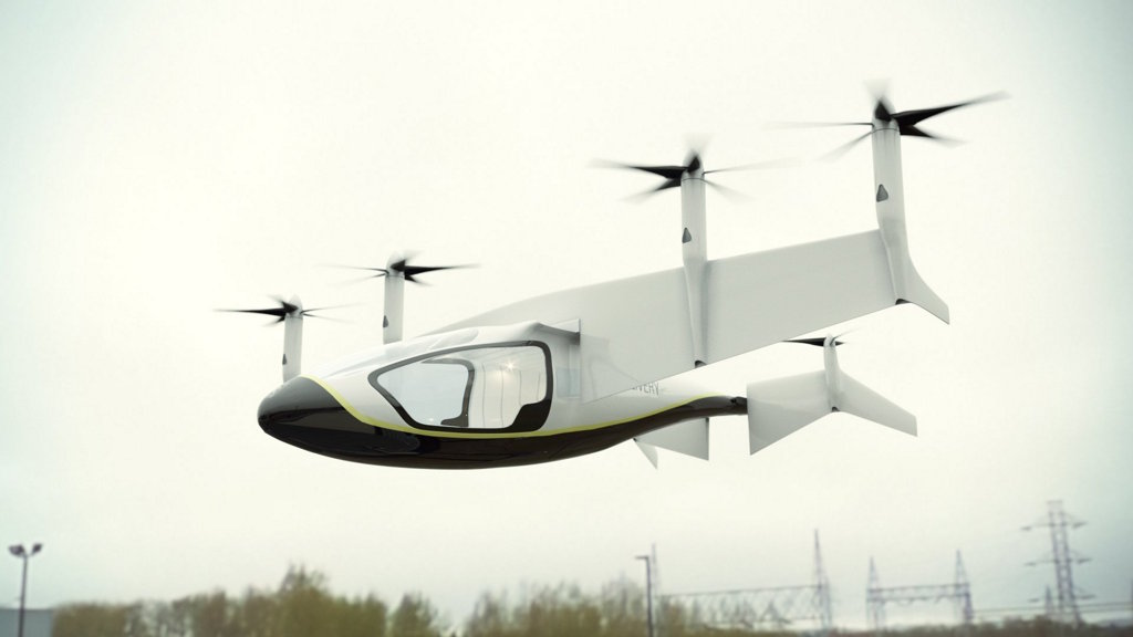 """Rolls-Royce muestra un """"taxi volador"""" híbrido que funcionaría a partir de 2020"""