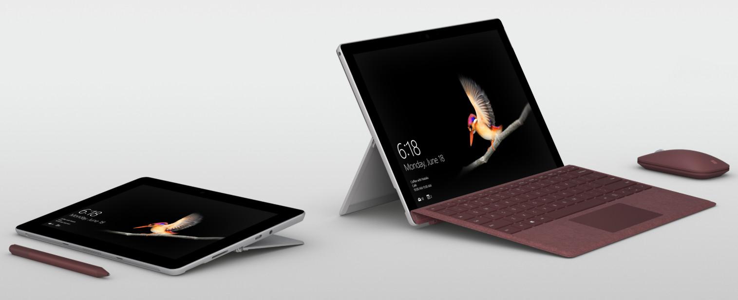 Surface Go, Microsoft presenta el Surface más económico 32