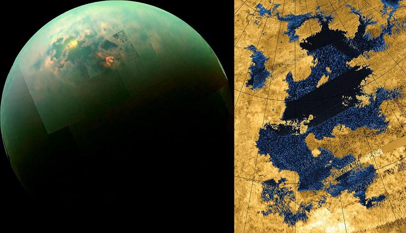 Titán: la luna de Saturno como nunca antes la habías visto 35