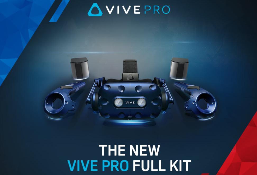 HTC anuncia VIVE Pro Full Kit, una gozada para VR a precio elevado 30