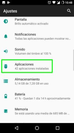 Configuración de los permisos a nivel del sistema en Google Chrome para Android