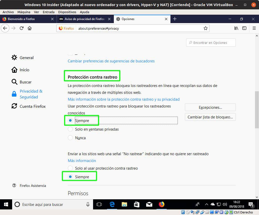 Cómo activar Do Not Track en los principales navegadores para escritorio y Android 46