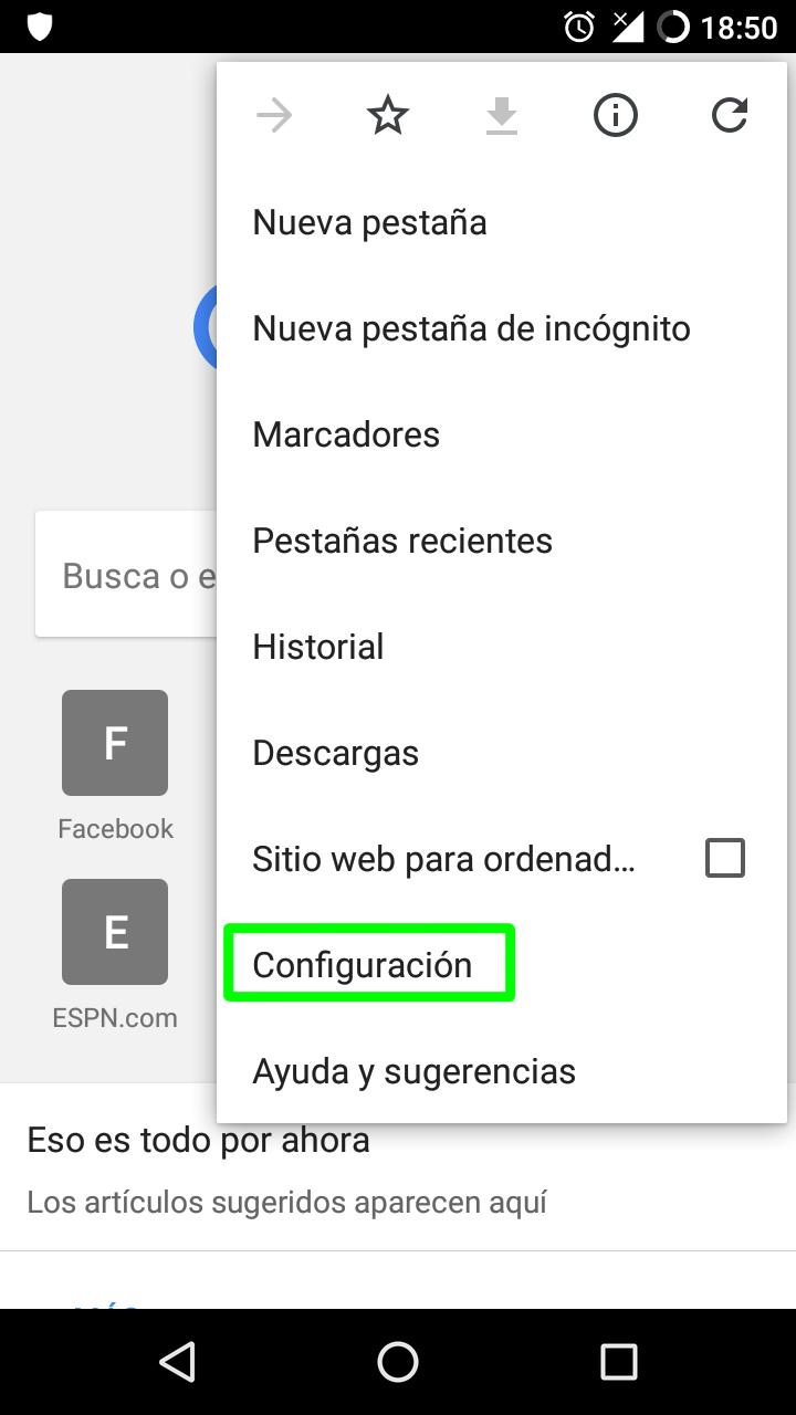 Cómo activar Do Not Track en los principales navegadores para escritorio y Android 68