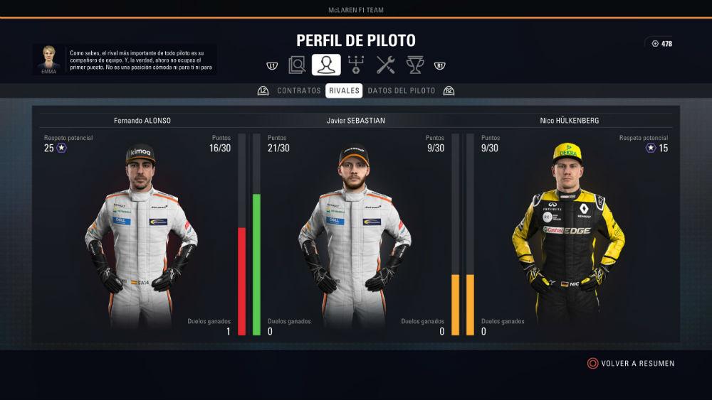 F1 2018, análisis (PC) 33