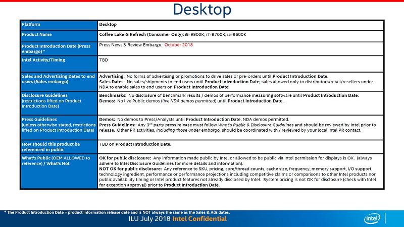 Intel presentará los Core 9000 el 14 de agosto, no se venderán hasta octubre 33