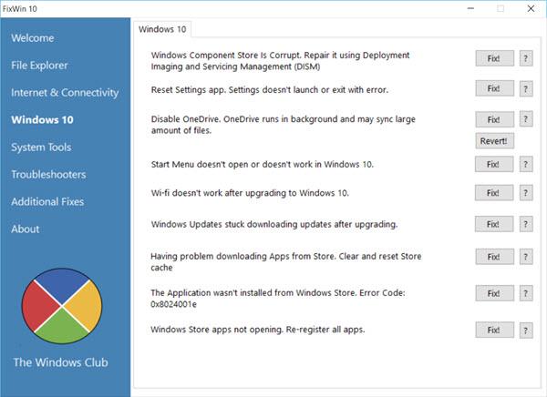 7 herramientas gratuitas para solucionar problemas en Windows 10 32